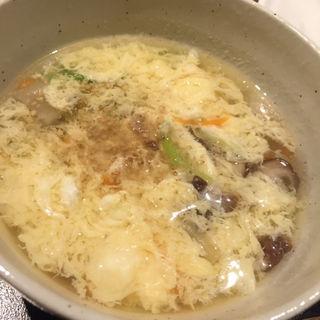 卵スープ(おかき )