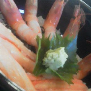 かにえび丼(おけしょう鮮魚の海中苑 )