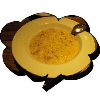 ポルチーニ茸のリゾット(オステリアイルフォルノ)