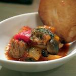 神戸牛の牛すじと野菜のトマト煮込み
