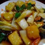 いかと白菜のうま煮