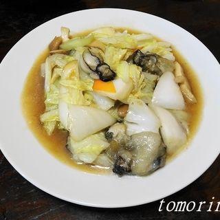 かきと白菜のオイスター炒め(おだい処 近次)