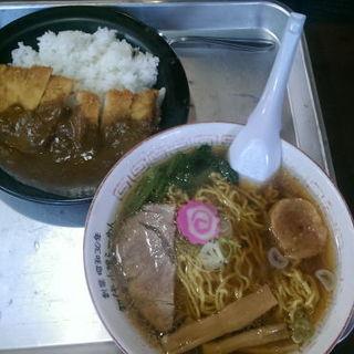 カレーセット(おとん食堂 栗沢本店)