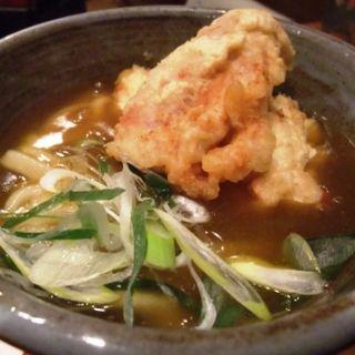 鶏天カレーうどん(おにかま)