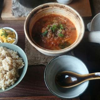 トマトと塩麹のミネストローネ(オニワカフェ (Oniwa Cafe))