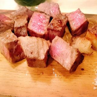 黒毛和牛のステーキ(オリーブオイルキッチン 富山駅前店 )