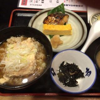 豆腐茶飯と焼き魚定食(お多幸 神田店 (おたこう))