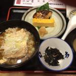 豆腐茶飯と焼き魚定食