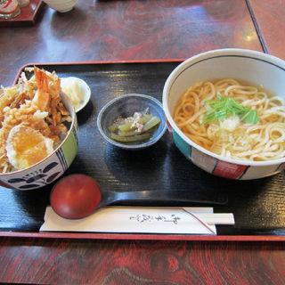 天丼セット(お多福 (おたふく))