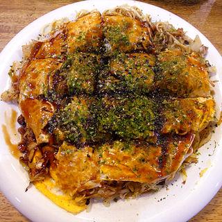 肉玉そば(お好み焼いきな亭 )