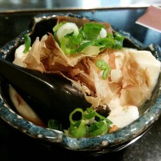 手作り豆腐(お好み焼きもみじ )