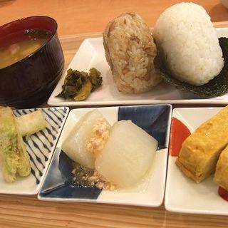 一汁三菜セット(お米カフェmusubime)