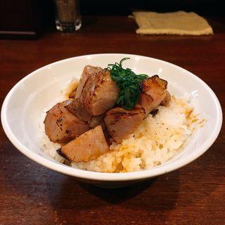 ランチセット豚飯(麺屋 維新 (めんや いしん))