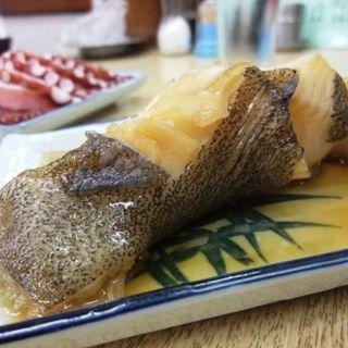 カレイの煮付け(お食事処 すゑひろ)
