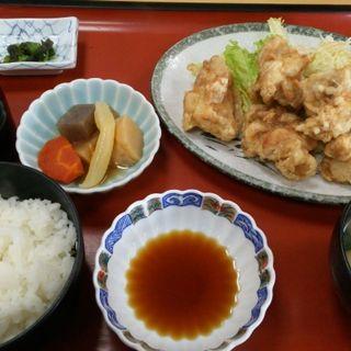 地鶏からあげ定食(お食事処 たき 東塚店 )