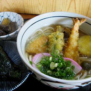 天ぷらうどん定食(お食事処 とち )