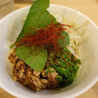 ペペロンチーノ和え麺(カーザ ルカ 新横浜ラーメン博物館店 (CASA LUCA))