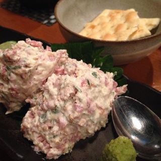 鴨スモークとチーズの和え(かい眞 (かいしん))