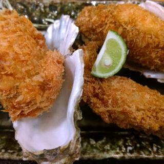 カキフライ定食(カキ酒場 北海道厚岸)