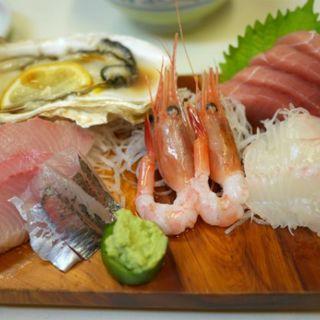 さしみ盛り合わせ定食(かご平 )