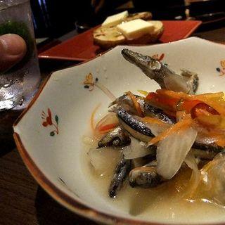 鹿児島の郷土料理のキビナゴの南蛮漬(かごんま )
