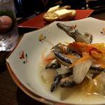 鹿児島の郷土料理のキビナゴの南蛮漬