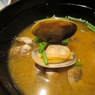 浅蜊の味噌汁(かじ乃家 )