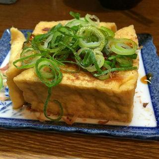 厚揚げ焼き(かすうどん山本 2号店 )