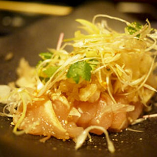 ムネ肉のユッケ(かちがらす 福島店 )