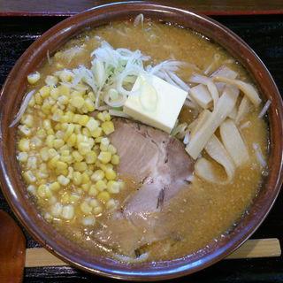 バターラーメン 味噌+コーン(かっつも亭 大府店 )