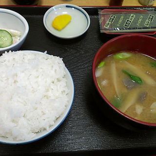 豚汁定食(かどや食堂 )