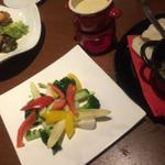 野菜のバーニャカウダ