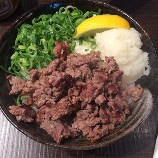 あっさり下ろしポン酢の肉丼(1ポンドの ステーキ ハンバーグ タケル 福島店 )