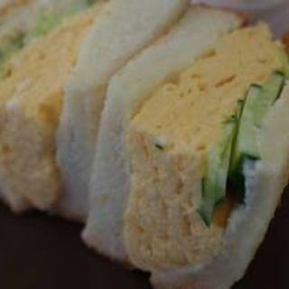 厚焼きたまごサンド(カフェ アリエッティ (Cafe ARRIETTY))