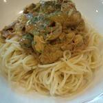 スパゲッティポリネシアン(カレー風味)