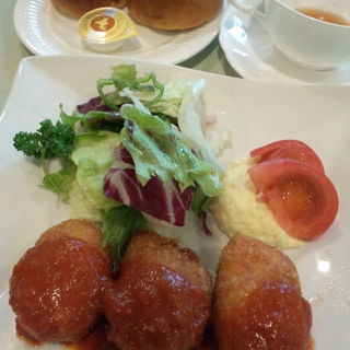 ライスコロッケ(カフェ すいれん )