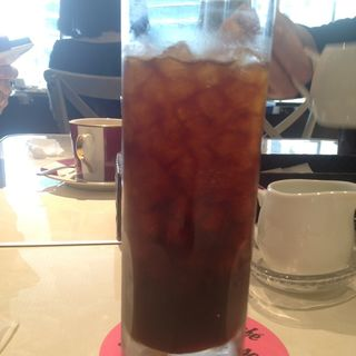 アイスコーヒー(カフェ ラ・ポーズ ルクア大阪店 (La Pause))
