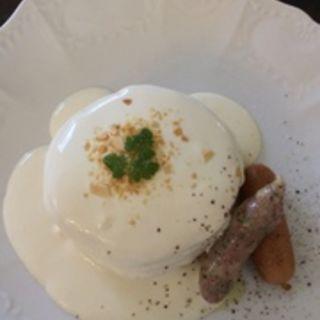 塩チーズクリームパンケーキ (カフェアンジェ (Cafe Ange))