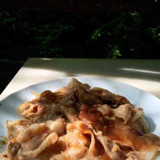 豚の生姜焼き(カフェテラス空 )