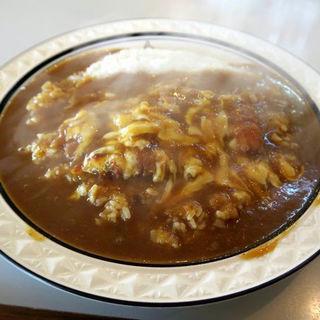 チキンカツチーズ大盛り辛口(カレーショップキング )
