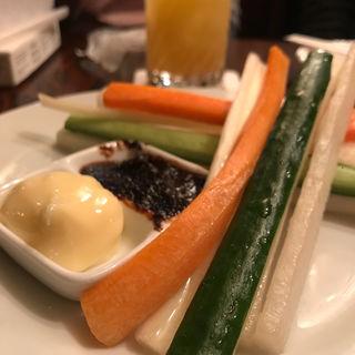 野菜スティック(どん底 (どんぞこ))