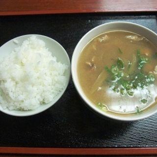 とん汁定食(かわせみ )
