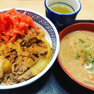 牛丼並(吉野家 新宿東口靖国通り店)
