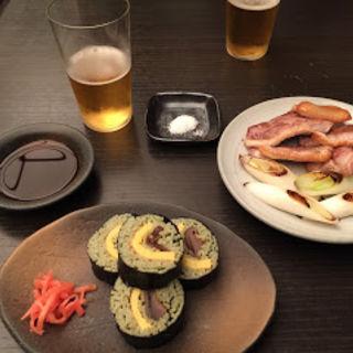 蕎麦寿司(かんだやぶそば )