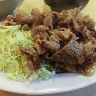 豚生姜焼定食(かんだ食堂 (かんだしょくどう))