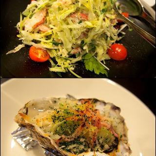 牡蠣のオーブン焼き (キートス (Kiitos))
