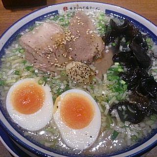 牛タンねぎ塩ラーメン全部のせ(きぞう (㐂蔵))