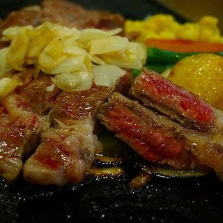黒毛和牛ロースステーキコース(キッチン 五斗米 今宿店 (キッチン ゴトベイ))