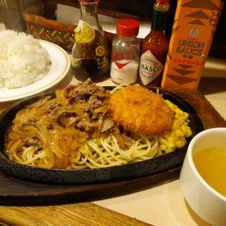 カロリー焼き&カニクリームコロッケ(キッチンカロリー )