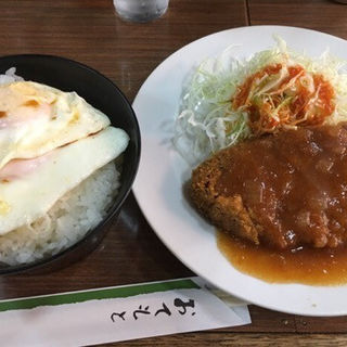 メンチカツランチ(キッチンつぼ )